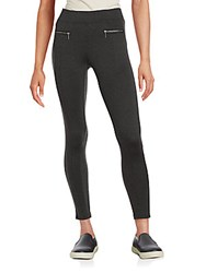 Willow And Clay Zip Pocket Leggings Charcoal
