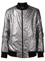 Alexandre Plokhov Flight Bomber Jacket Metallic
