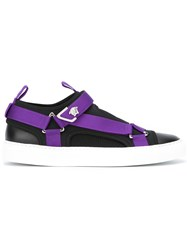 Versace Touch Strap Sneakers Black