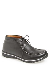 Men's Alegria 'Packard' Moc Toe Chukka Boot Black Tumbled