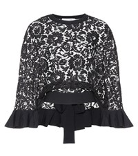 Valentino Lace Cape Black