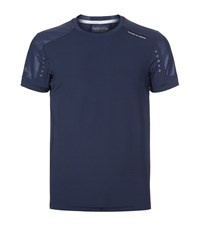 Porsche Design Running T Shirt Male Navy