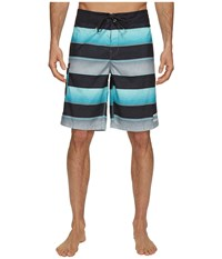 Billabong All Day Originals Stripe Boardshorts Mint Men's Swimwear Green
