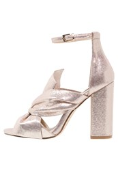 Miss Selfridge Candy Sandals Rose Gold