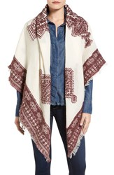 Sandy And Sid Women's Festive Embroidered Scarf