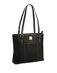 Dooney And Bourke Small Lexington Shopper Tote Black Black