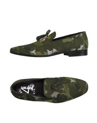 4 Four Messagerie 4 Four Messagerie Footwear Moccasins Men Military Green