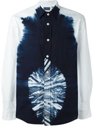 Blue Blue Japan Tie Dye Print Shirt