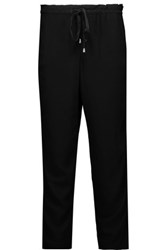 Splendid Canvas Straight Leg Pants Black