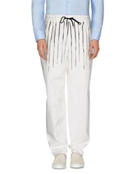 Jean Paul Gaultier Trousers Casual Trousers Men White