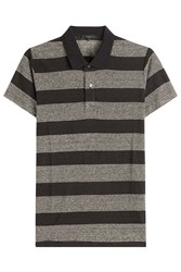 Iro Striped Cotton Polo Shirt Stripes