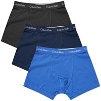 Calvin Klein 3 Pack Trunk Blue
