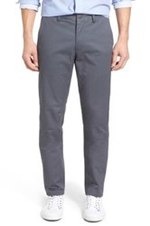 Bonobos Slim Fit Washed Stretch Cotton Chinos Gray
