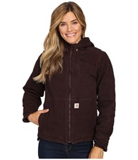 Carhartt Full Swing Caldwell Jacket Deep Wine Women's Coat Burgundy