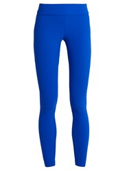 No Ka' Oi Keia Performance Leggings Blue