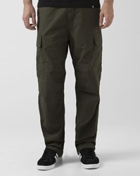Carhartt Relaxed Fit Elasticated Dark Green Columbia Cargo Trousers