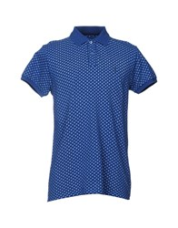 Refrigue Topwear Polo Shirts Blue
