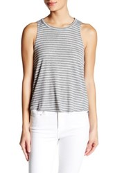 Poof Open Back Stripe Tank