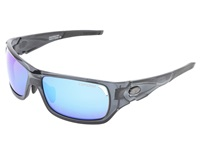 Tifosi Optics Duro Mirrored Interchangeable Smoke Clarion Blue Ac Red Clear Lens Athletic Performance Sport Sunglasses Gray