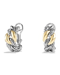 Earrings With 18K Gold 20Mm David Yurman