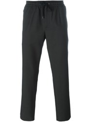 Dolce And Gabbana Drawstring Trousers Black