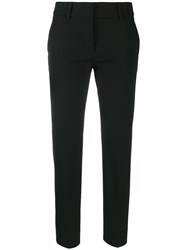 Piazza Sempione Slim Fit Trousers Black