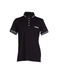 Crust Topwear Polo Shirts Men Black