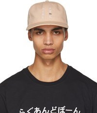 Rag And Bone Pink Dylan Baseball Cap