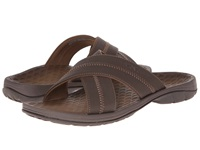 Vionic With Orthaheel Technology Adam Chocolate Men's Sandals Brown