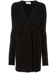 Thierry Mugler Belted Cardigan Black