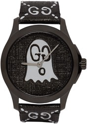 Black G Timeless Guccighost Watch