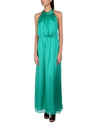 Attic And Barn Long Dresses Green