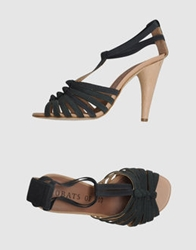 Acrobats Of God High Heeled Sandals Brown