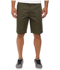 Rvca The Week End Shorts Leaf Men's Shorts Brown