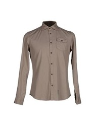Fred Mello Shirts Dove Grey