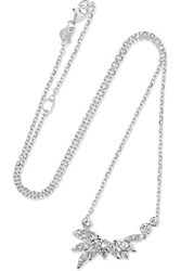 Stephen Webster Hearts On Fire White Kites 18 Karat White Gold Diamond Necklace
