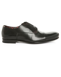 Paul And Joe Bel Air Black Leather Derby Shoes