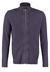 Tom Tailor Cardigan Knitted Navy Dark Blue