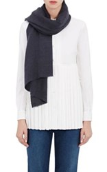 Denis Colomb Women's Annapurna Woven Cashmere Shawl Navy