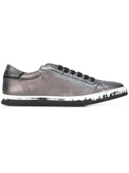 Just Cavalli Lace Up Sneakers Grey