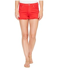 Lucky Brand The High Rise Shortie In Bedford Bedford Women's Shorts Blue
