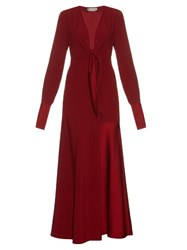 Sportmax Duero Dress Dark Red
