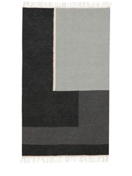 Ferm Living Small Section Kelim Wool And Cotton Rug