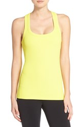 Alo Yoga Women's Alo 'Support' Ribbed Racerback Tank Zest