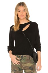 Lna Brushed Phased Sweatshirt Black