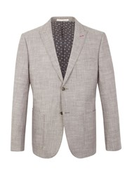 Racing Green Parson Cotton Blazer Grey
