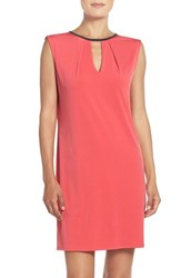 Kut From The Kloth Women's Knit Shift Dress Coral