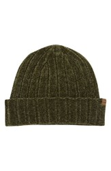 Billabong Warm Up Chenille Beanie Green Olive