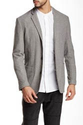 Shades Of Grey Knit Blazer Gray