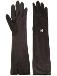 Theatre Products Long Gloves Black
